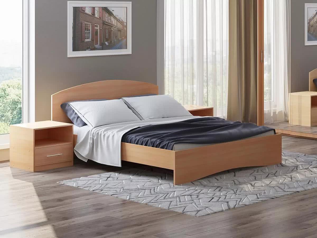 Кровать Этюд с матрасом Melange EVS500 в Казани